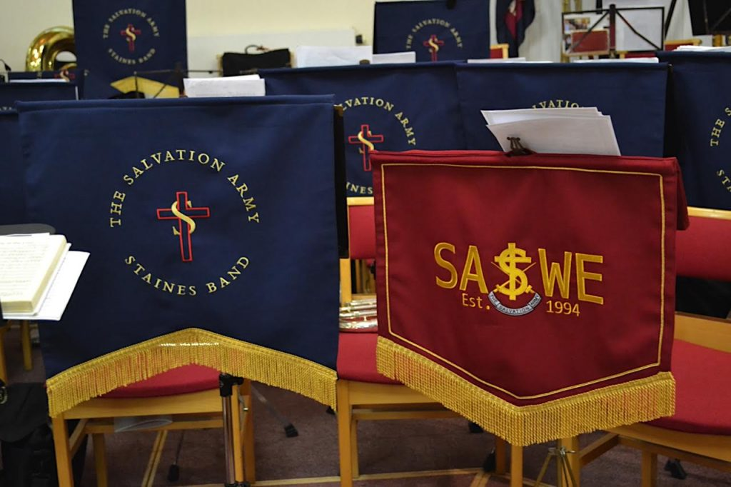 SASWE at Maisie Wiggins' Celebration Service