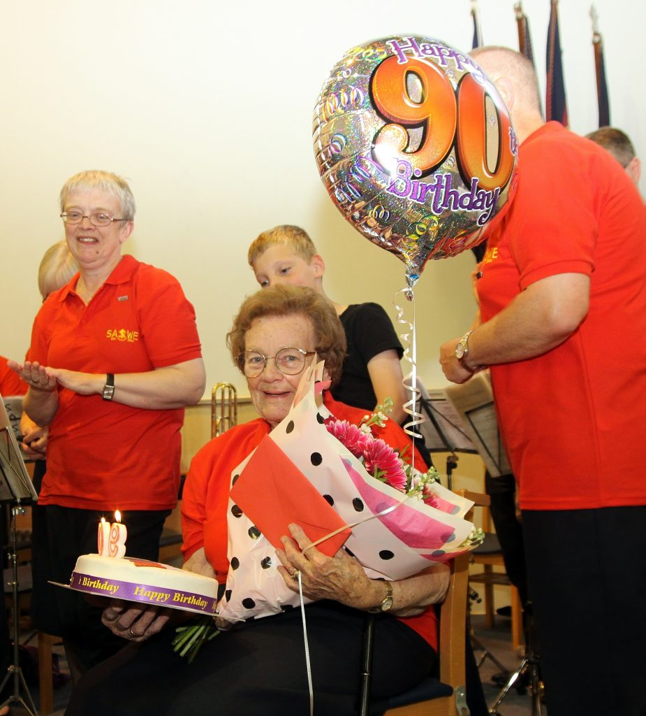 Maisie Wiggings 90th Birthday