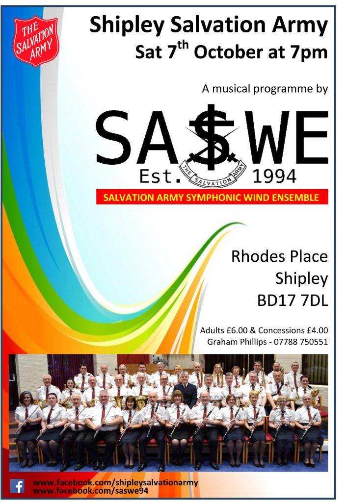 SASWE Shipley Poster